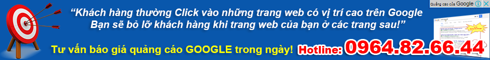 Quảng Cáo Google Adwords