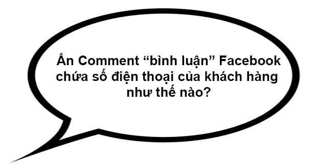 ẩn commnent facebook
