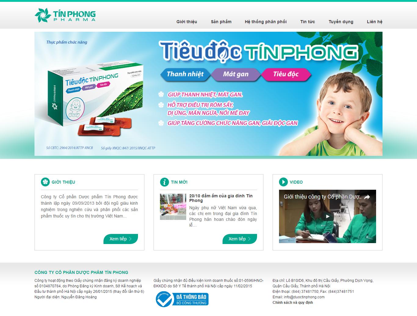 Thiết kế website dược phẩm y tế - VietAdsGroup.Vn
