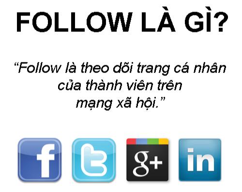 Follow là gì và tác dụng của Follow trên mạng xã hội?