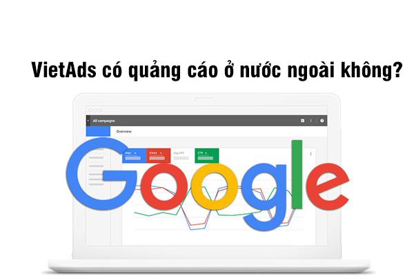 VietAds có quảng cáo ở nước ngoài không?