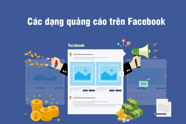 Các dạng quảng cáo trên Facebook