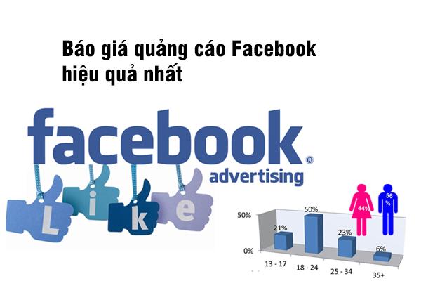 Báo giá quảng cáo Facebook hiệu quả nhất