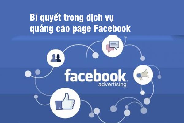 Bí quyết trong dịch vụ quảng cáo page Facebook