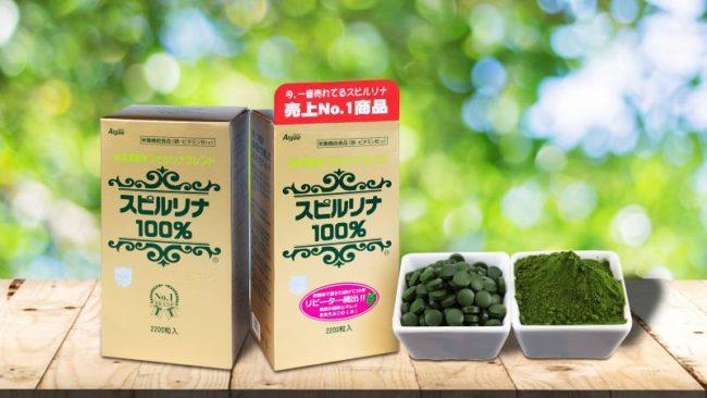 Bạn biết gì về tảo xoắn Spirulina Nhật Bản hộp 2200 viên?