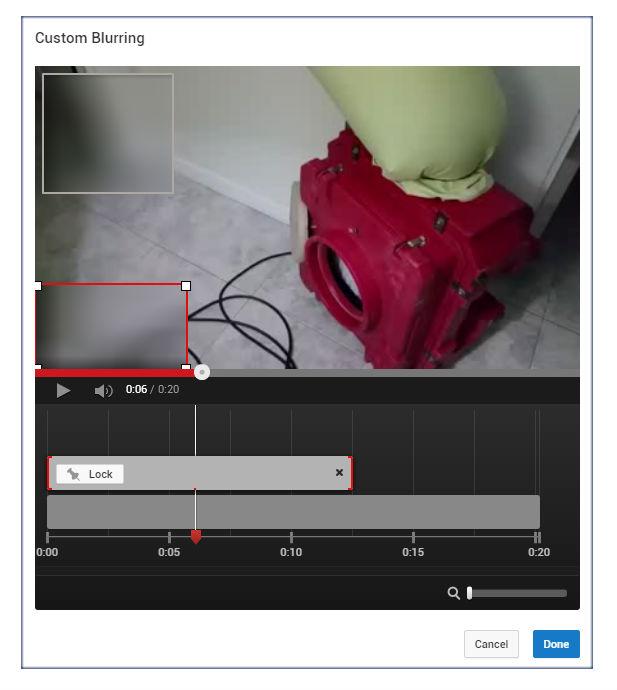Cách làm mờ đối tượng trong video upload lên YouTube?