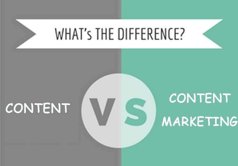 Cách Phân Biệt Content Và Content Marketing?