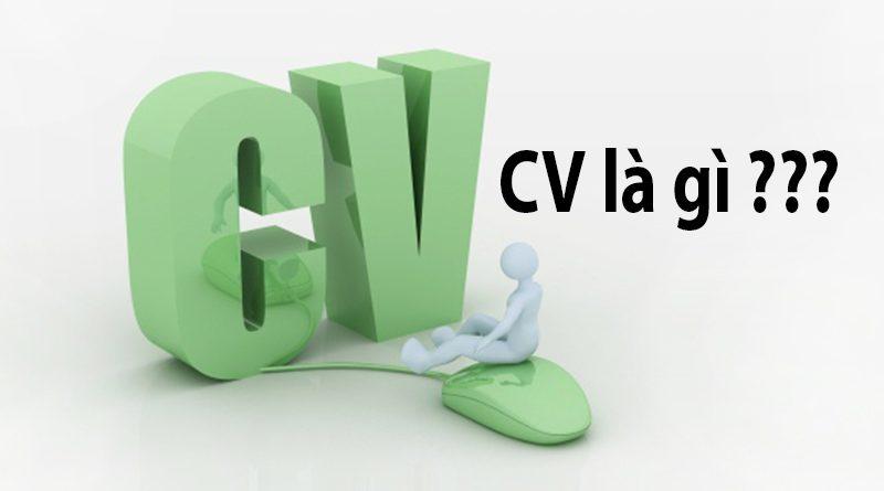 CV Là Gì? Tìm Hiểu Về CV Là Gì?