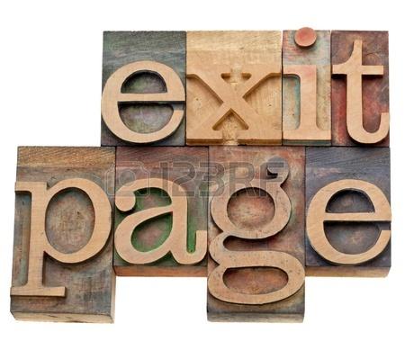 Exit Page Là Gì? Tìm Hiểu Về Exit Page Là Gì?