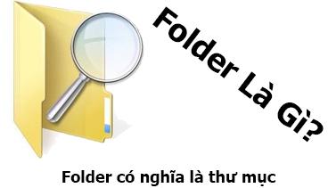 Folder Là Gì? Tìm Hiểu Về Folder Là Gì?