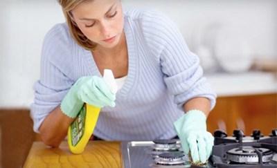 Gian bếp luôn sạch đẹp với những mẹo nhỏ sau