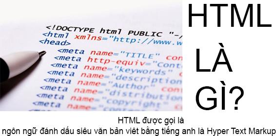 HTML Là Gì? Tìm Hiểu Về HTML Là Gì?