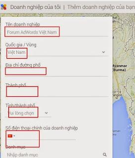 Hướng Dẫn Đưa Địa Chỉ Doanh Nghiệp Lên Google Map?