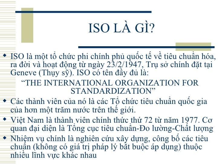 ISO Là Gì? Tìm Hiểu Về ISO Là Gì?