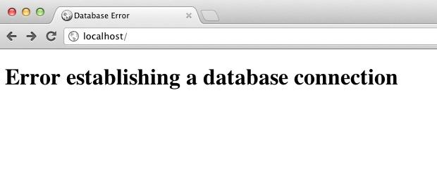 Lỗi Error Establishing A Database Connection  Là Gì?