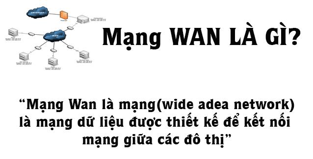 Mạng Wan Là Gì? Khái Niệm Mạng Wan Là Gì?