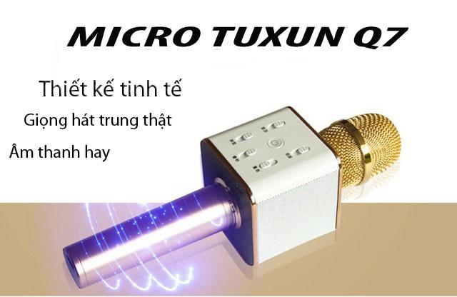 Micro Tuxun Q7 Là Gì? Tìm Hiểu Về Micro Tuxun Q7 Là Gì?