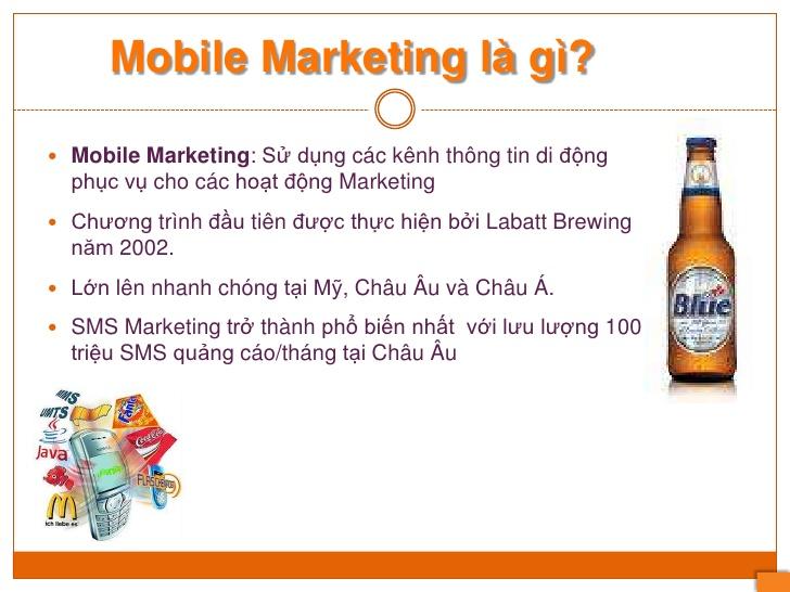 Mobile Marketing Là Gì? Tìm Hiểu Về Mobile Marketing Là Gì?