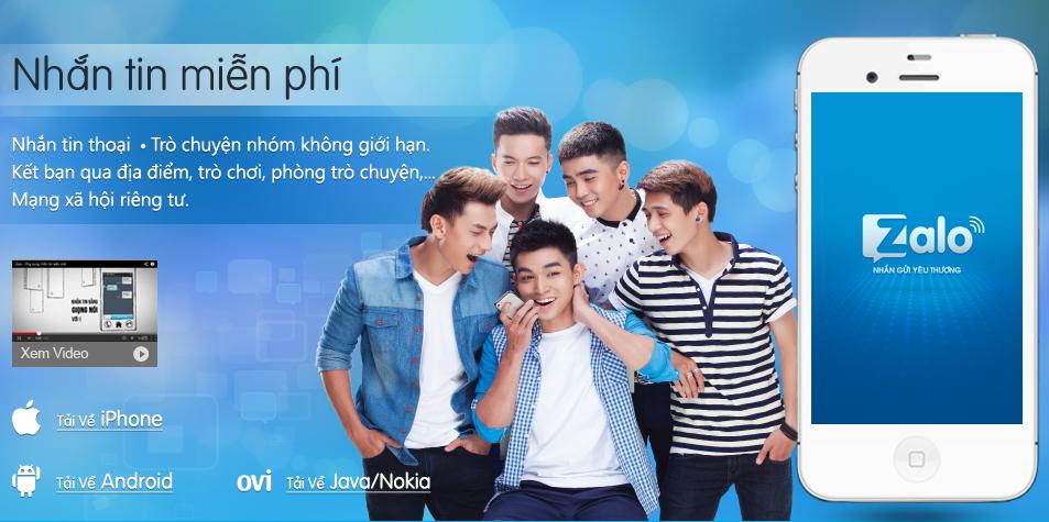 Người Việt dùng quảng cáo zalo nhiều nhất?