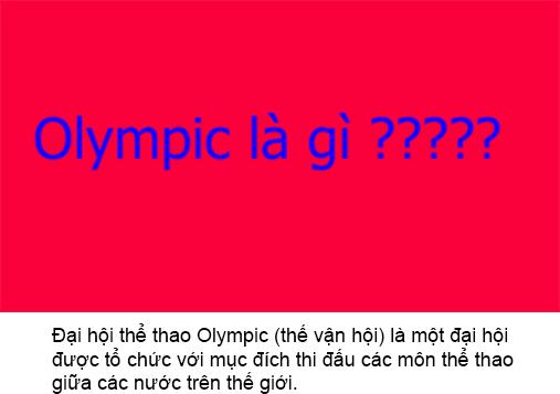 Olympic Là Gì? Tìm Hiểu Về Olympic Là Gì?