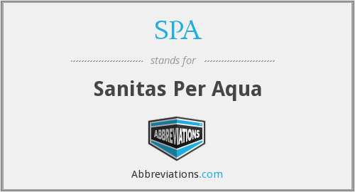 Sanitas Per Aqua Là Gì?  Tìm Hiểu Về Sanitas Per Aqua Là Gì?