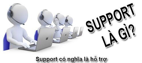 Support Là Gì? Ý Nghĩa Của Từ Support Là Gì?