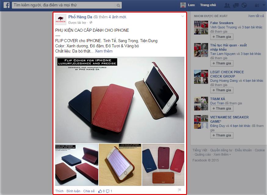 Tại sao bạn nên quảng cáo sản phẩm của mình trên Facebook?