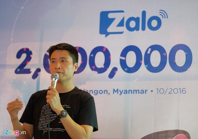 Tại sao Zalo có 2 triệu người dùng ở Myanmar?
