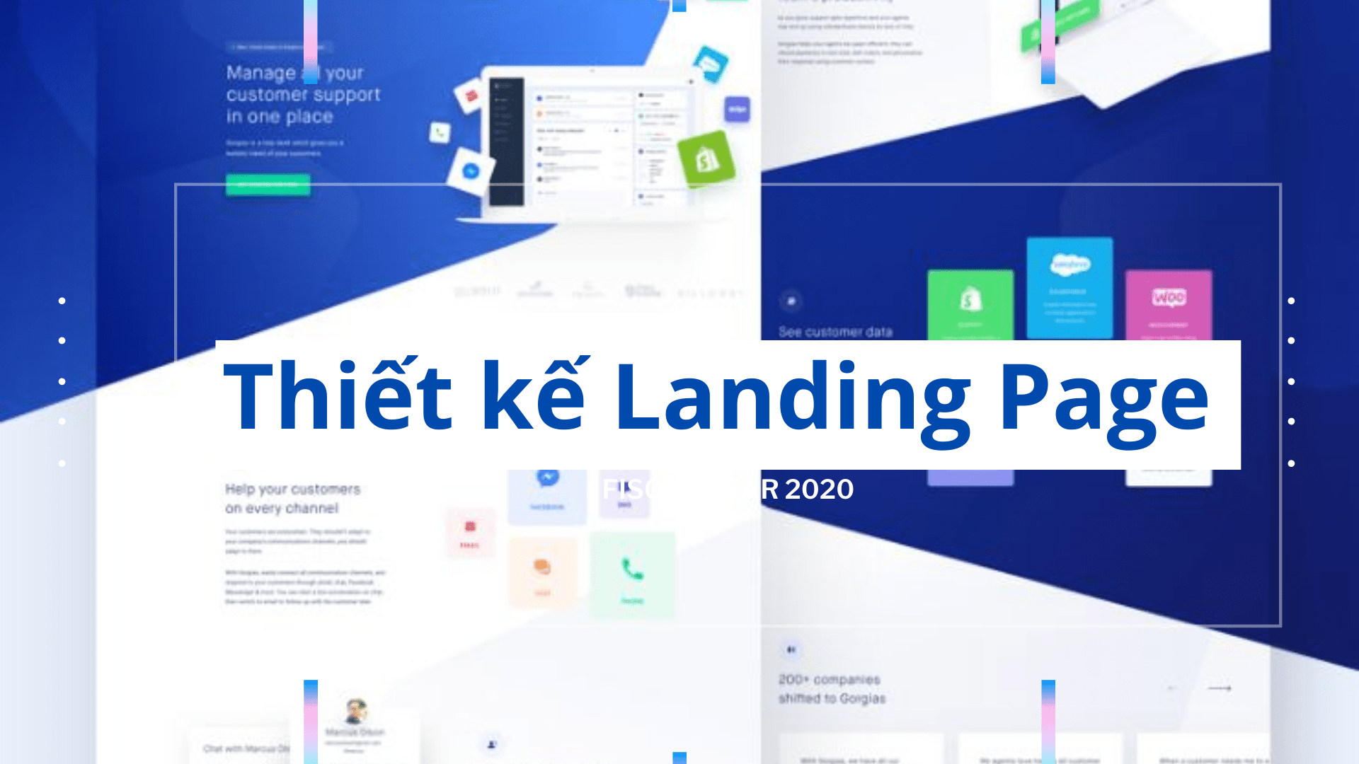 Thiết kế Landing Page tuyển sinh