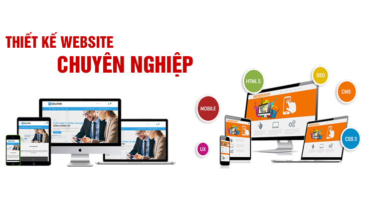 Thiết kế Website profile
