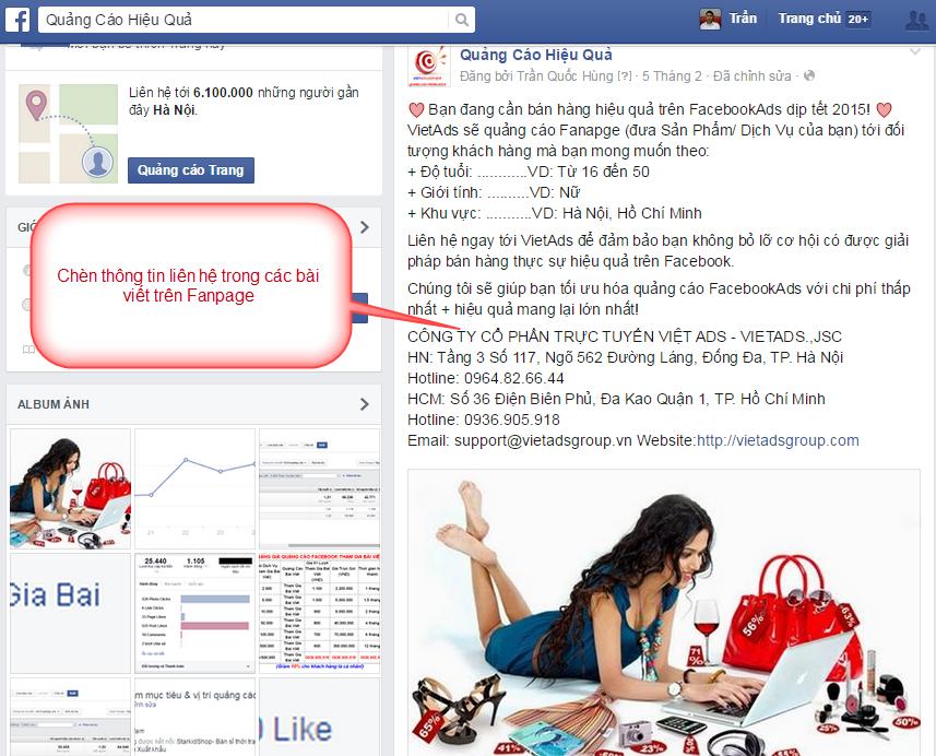 Thủ Thuật SEO Cho Fanpage Facebook