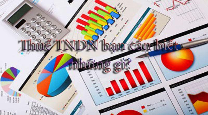 Thuế TNDN Là Gì? Tìm Hiểu Về Thuế TNDN Là Gì?