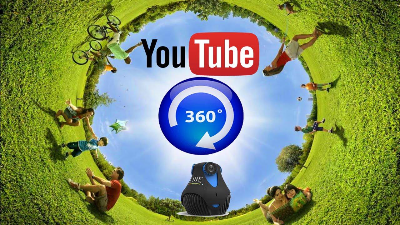 YouTube cho phép truyền hình trực tiếp định dạng Video 360?