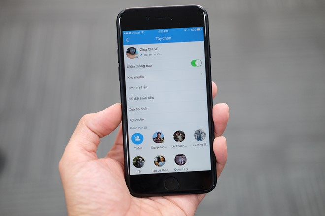 Zalo trên iOS cập nhật thêm nhiều tính năng mới cho người dùng?